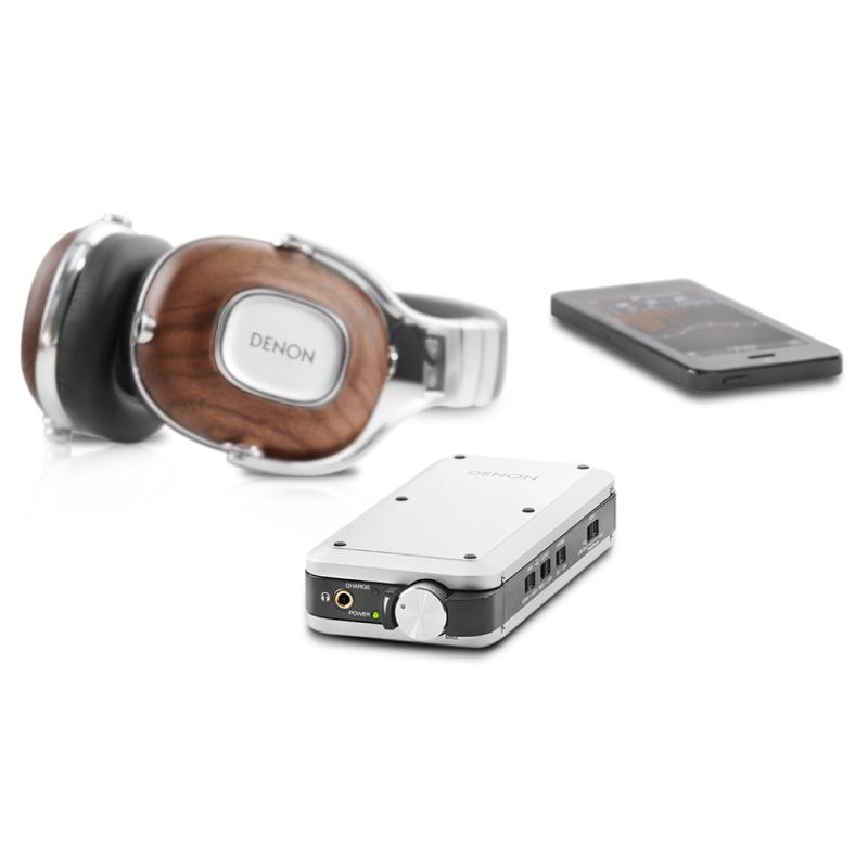 Denon DA-10 Amplificador y dac para auriculares