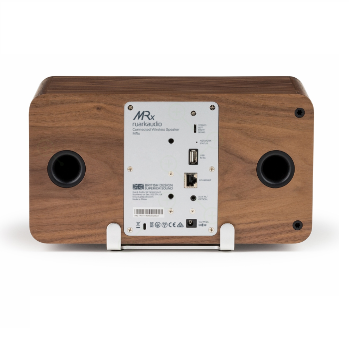 Ruark MRX NOGAL Altavoz WiFi Bluetooth inalámbrico