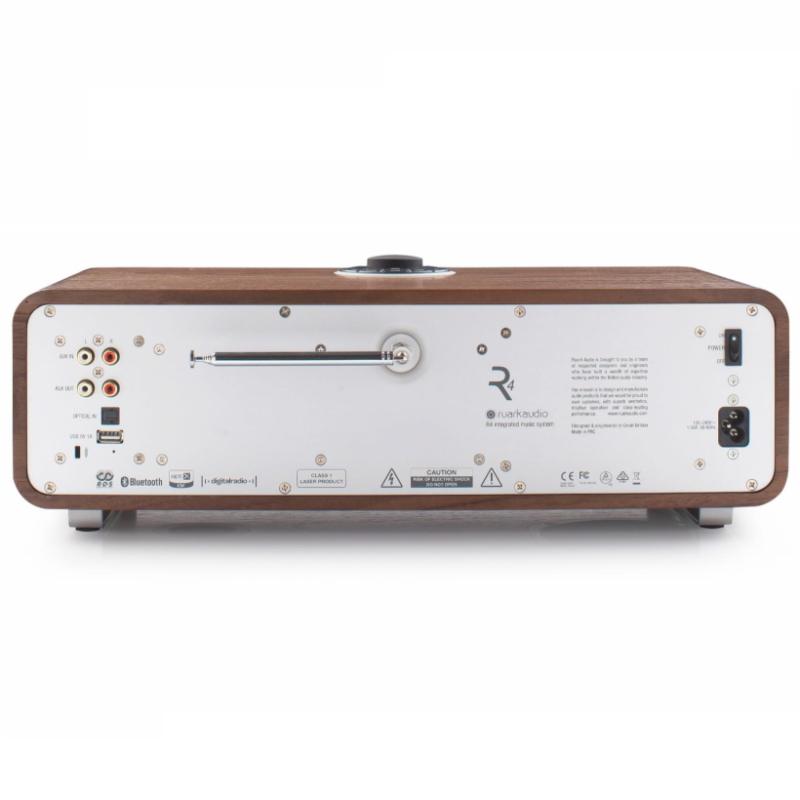 Ruark R4 MK3 Sistema de música integrado nogal