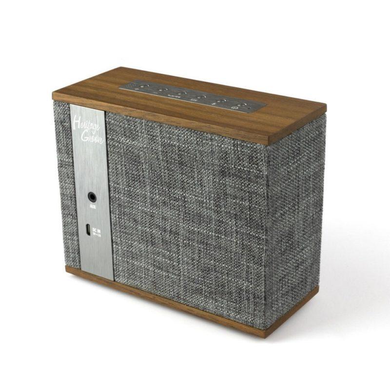 Klipsch Heritage Groove nogal Altavoz Bluetooth con batería
