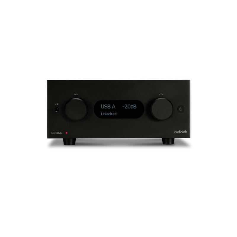 Audiolab M-DAC+ Convertidor digital a analógico DAC Negro