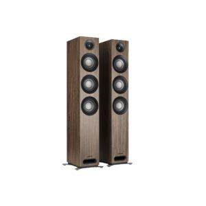 Jamo S 809 Pareja de altavoces de suelo Dolby Atmos NOGAL