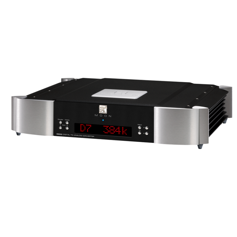 Moon 680D DAC Streaming negro plata