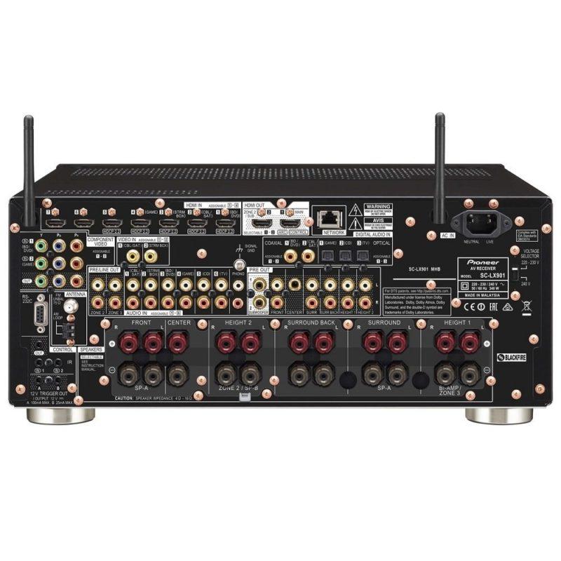 Pioneer SC-LX901 receptor AV y amplificador