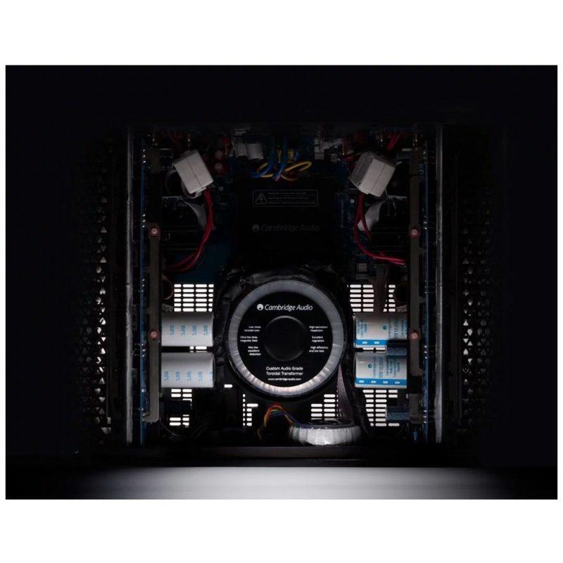 Cambridge Azul 851W Etapa de potencia de referencia interior