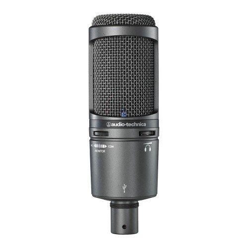 Audio Technica AT2020USB+ Micrófono USB para podcast youtube
