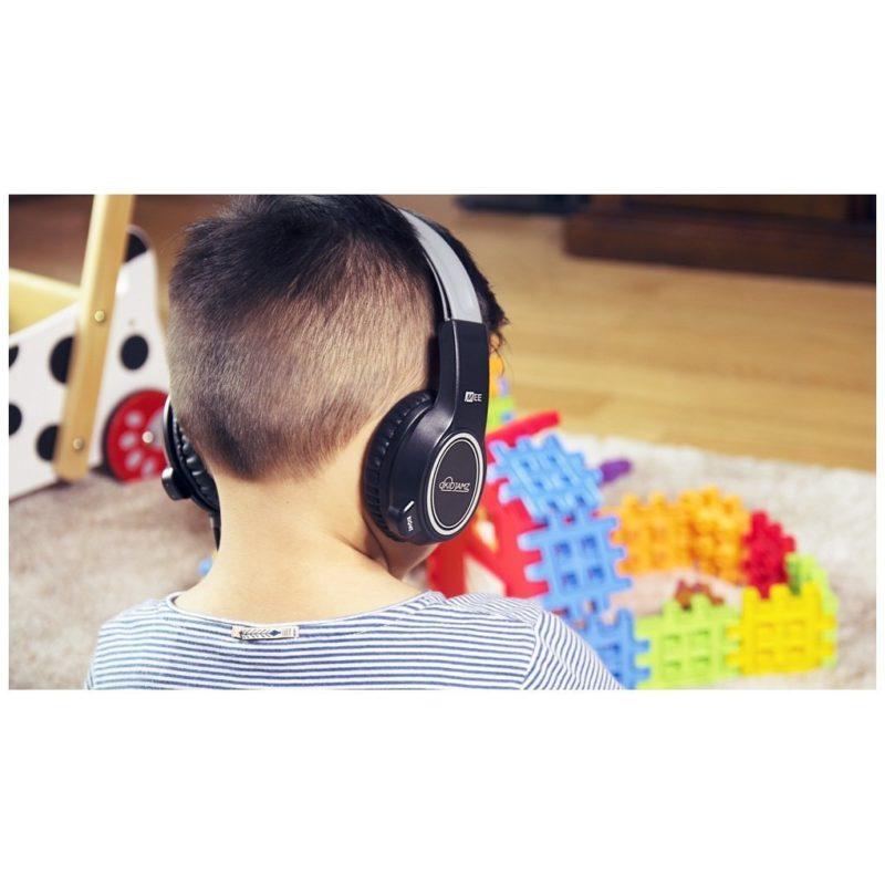 Mee Kidjamz 3 Auriculares para niños NEGRO