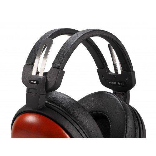 Audio Technica ATH-AWAS Auriculares de madera Asada Zakura