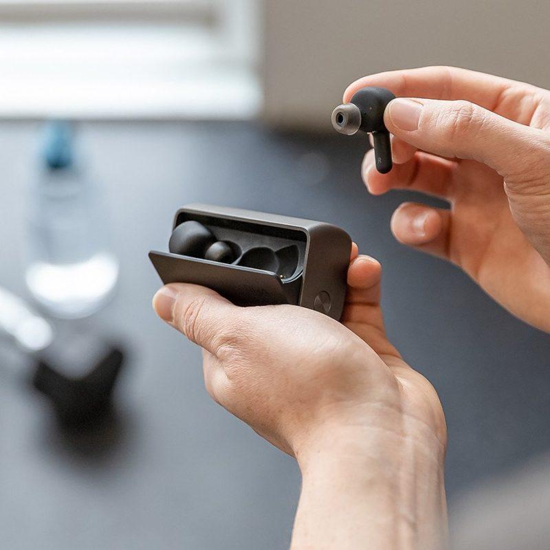 RHA True Connect 2 Auricular inalámbrico Bluetooth NEGRO