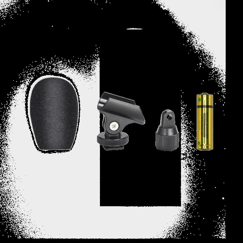 Audio Technica ATR6250x micrófono para cámara o grabadora