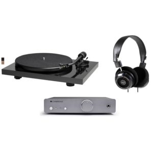 Music-Hall MMF Mark1 Previo de fono Cambridge Duo y Auriculares GRado SR60e