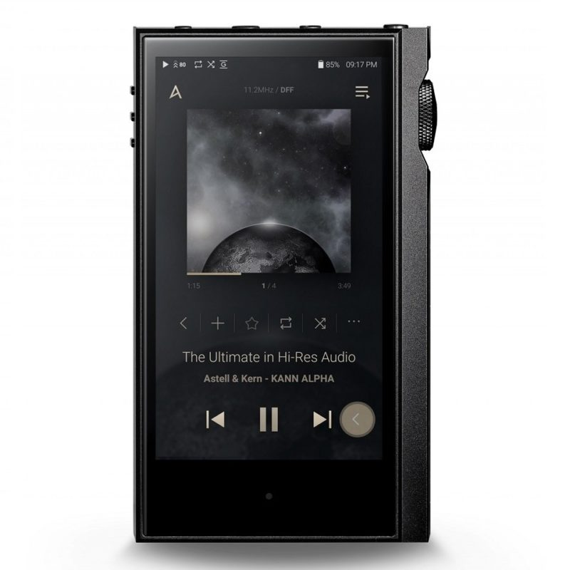 Astell and Kern KANN ALPHA Reproductor de Audio Hd