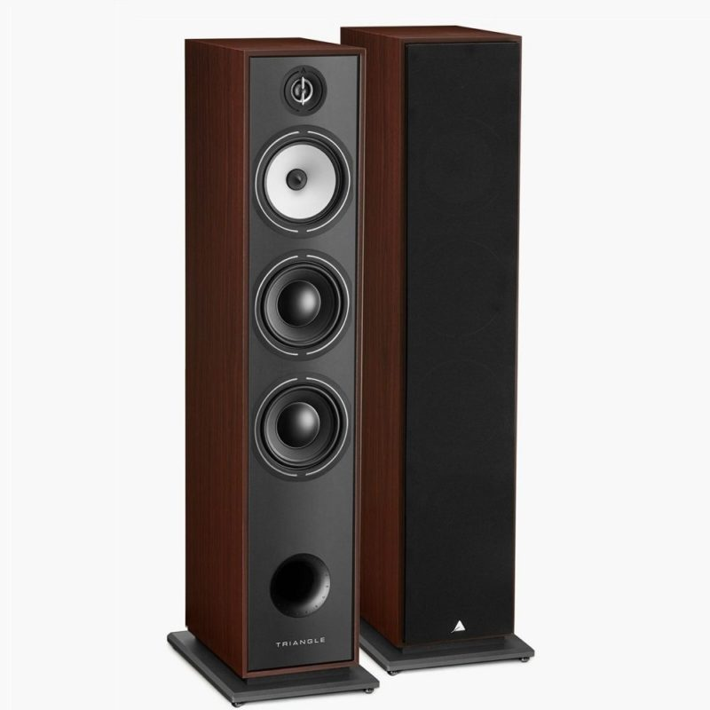 Triangle Borea BR08 Altavoces de suelo walnut