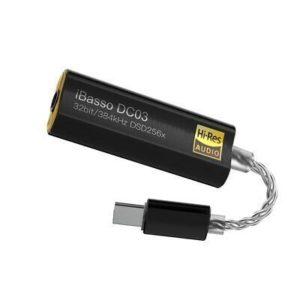 iBasso DC03 adaptador para móviles sin entrada de audio
