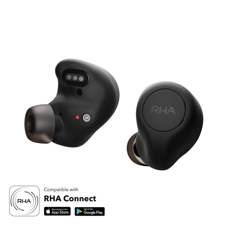 RHA TrueControl ANC Auriculares true Wireless con cancelación de ruido
