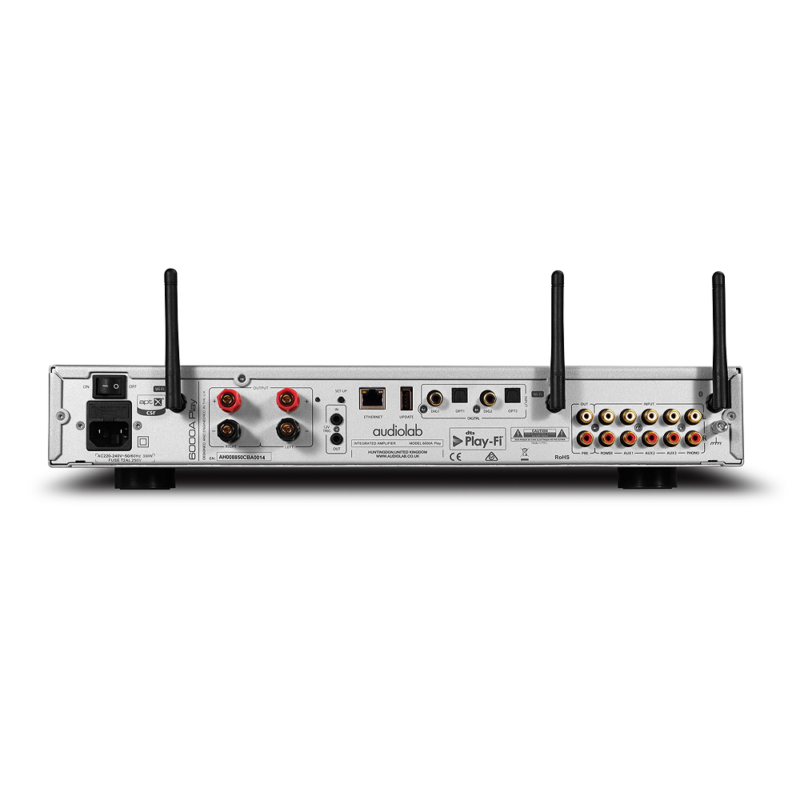 Audiolab 6000A Play plata trasera 1