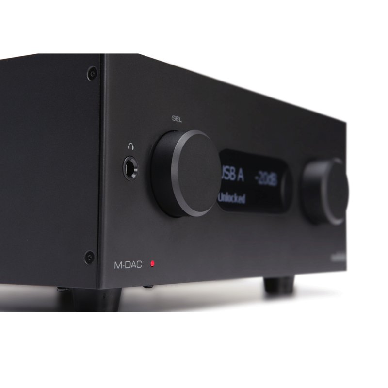Audiolab MDAC plus negro