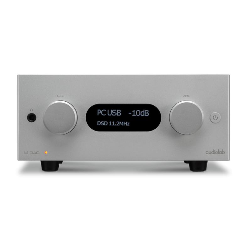 Audiolab MDAC plus plata