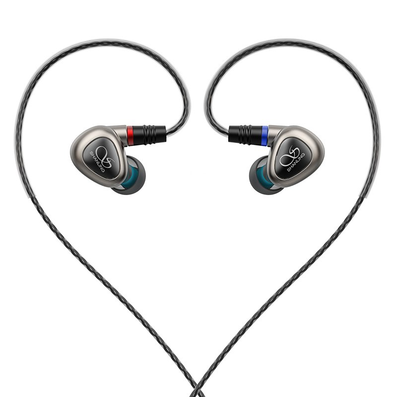 Shanling ME80 in ear headphones with MMCX cable