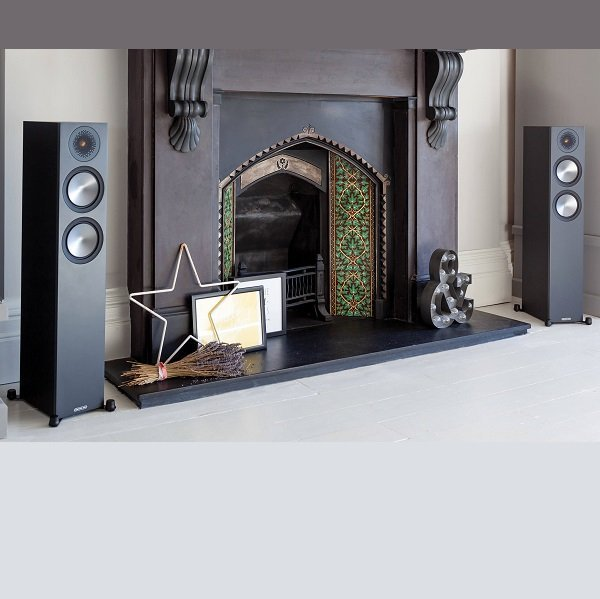 Monitor Audio Bronze 200 Altavoz de Suelo NEGRO
