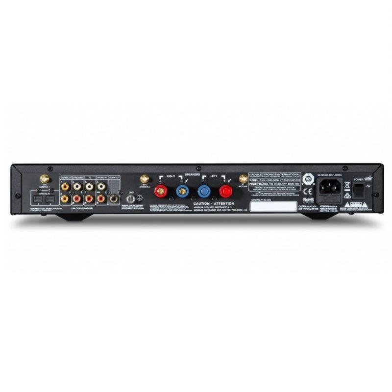 NAD C338 Amplificador DAC Digital Híbrido