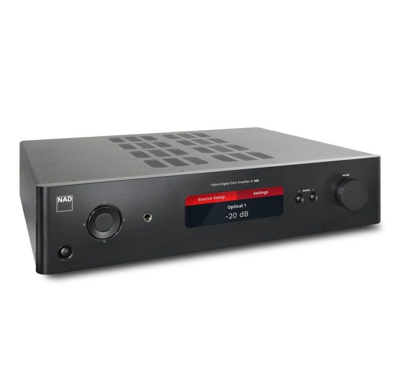 NAD C368 Amplificador DAC Digital Híbrido