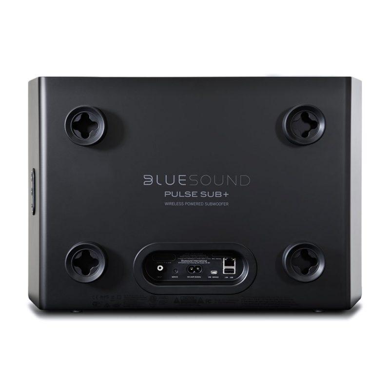 Bluesound Pulse Sub+ Subwoofer activo wireless negro
