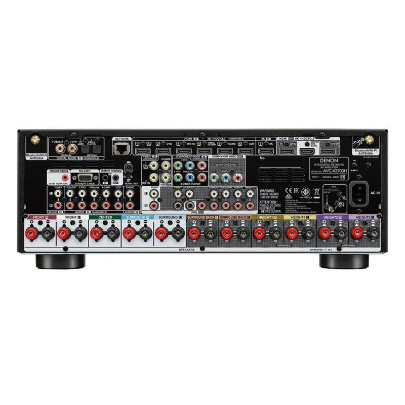 Denon AVC-X3700H Amplificador AV de 9.2 canales